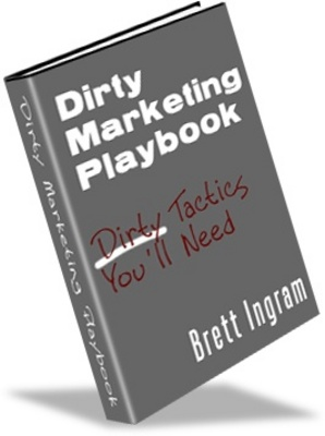 Product picture Dirty marketing playbook. Make more money from your website